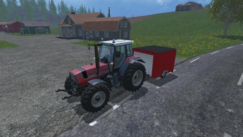 Feuerwehr Traktor