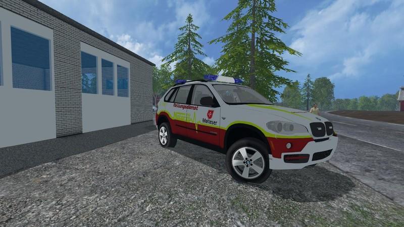Ls 15 Bmw X5 Nef V 1 0 Feuerwehr Mod F 252 R Landwirtschafts