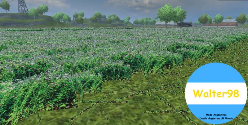 FS Texturas De Alfalfa V Textures Mod Für Farming - Argentina map farming simulator 2013