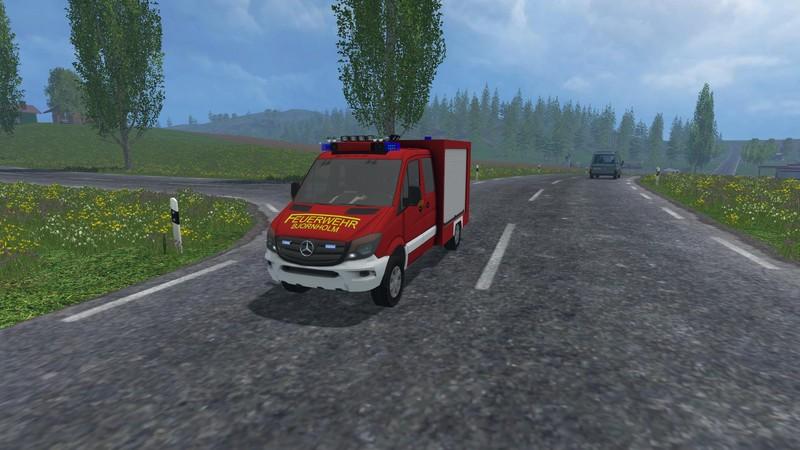 Landwirtschafts Simulator  Mercedes Feuerwehr