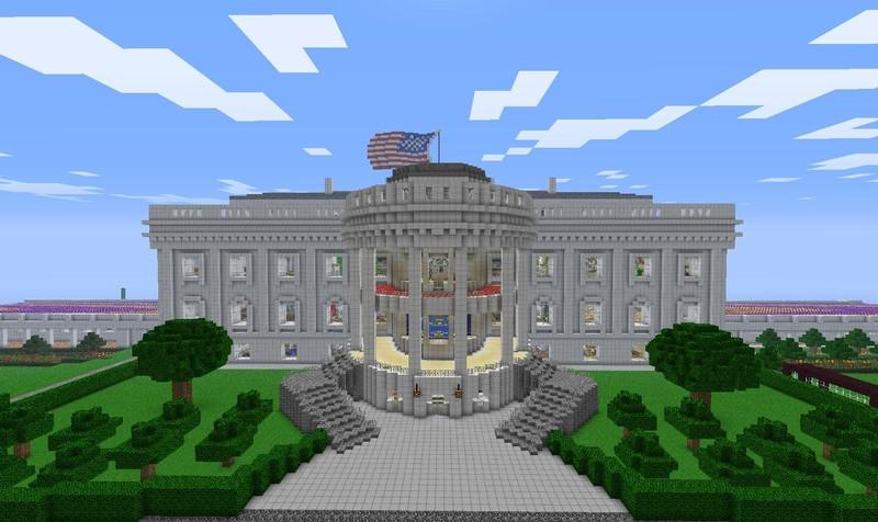 Minecraft Weißes Haus V Maps Mod Für Minecraft Modhosterde - Minecraft hauser download und einfugen