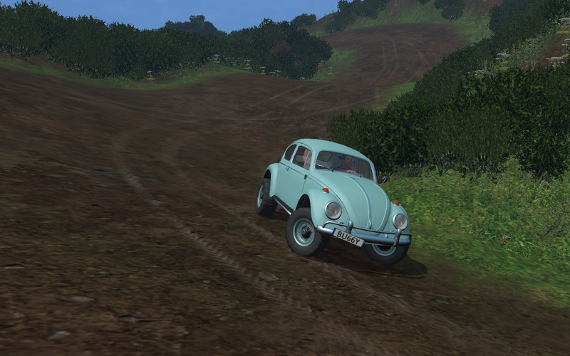New Beetle Off Road Rally Car