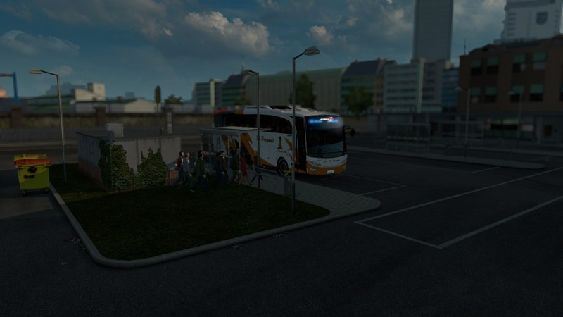ETS 2: Bus Passenger Transport and Terminal Mode v 2 0 Maps