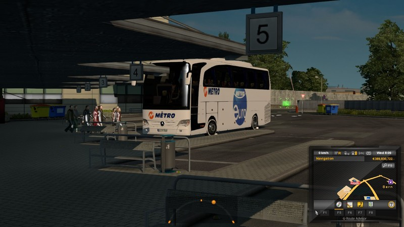 ETS 2: Bus Passenger Transport and Terminal Mode v 2 0 Maps