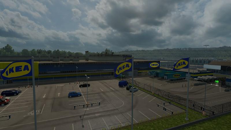 Ets 2 firma ikea v 1 0 sonstige mod f r eurotruck simulator 2 Ikea simulation