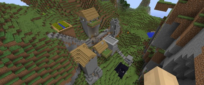 Minecraft Houses And Tunnels V Maps Mod Für Minecraft - Minecraft hauser