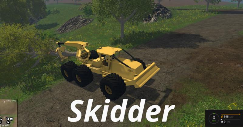 FS 15: Cat Skidder v 1 0 Cat Mod für Farming Simulator 15