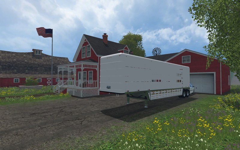 Fs 15 Us Old Cattle Trailer V 1 0 Trailers Mod F 252 R