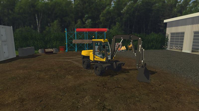 FS 15: Mecalac 12MTX v 1.0 Exevators Mod für Farming Simulator 15
