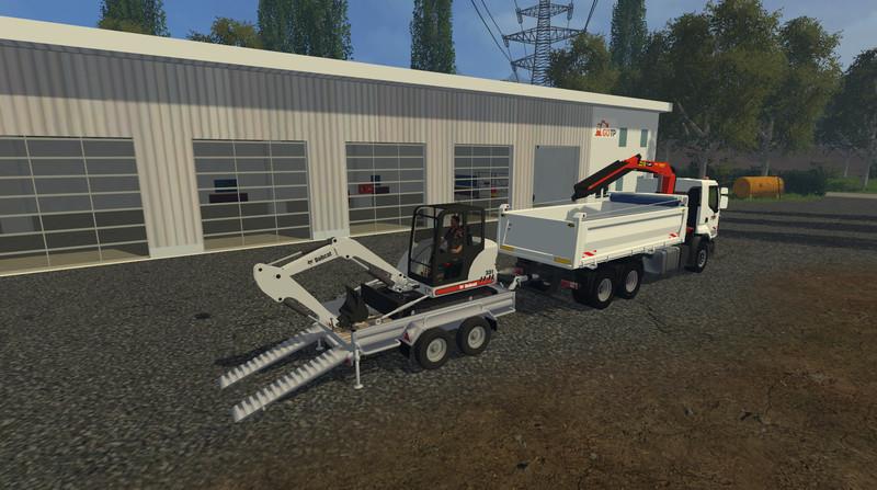 FS 15: Bobcat 331 v 1 0 Exevators Mod für Farming Simulator 15