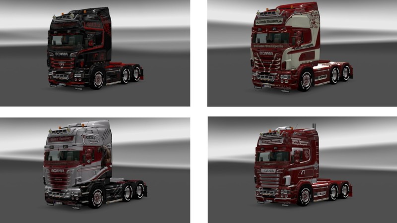 Ets 2 Scania R Von Rjl V 1 16 1 18x Skins Mod F 252 R