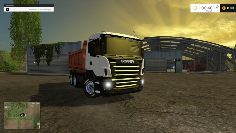 FS 15: Scania tipper v 1 5 Scania Mod für Farming Simulator 15