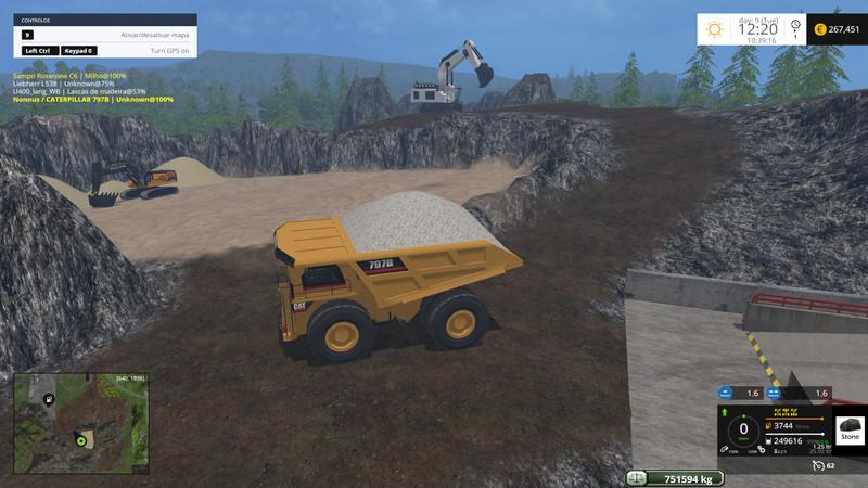 FS 15: Bjorn Holm Mining and Construction Economy v 2 0 Default Map