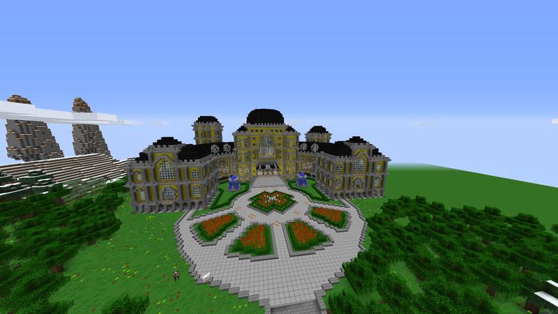 Minecraft Server Spawn V Maps Mod Für Minecraft - Minecraft hauser spawnen