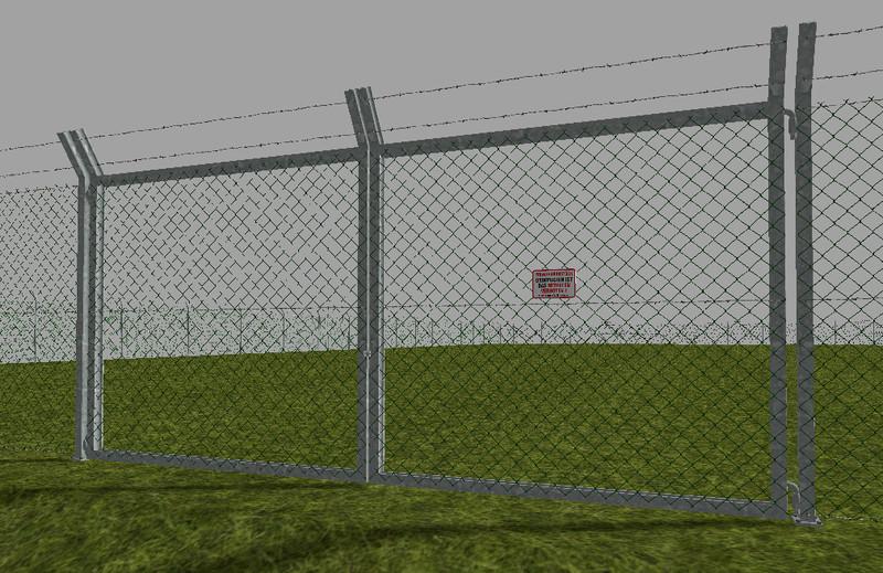fs 15 chain link fence set v 1 0 objects mod f r farming. Black Bedroom Furniture Sets. Home Design Ideas