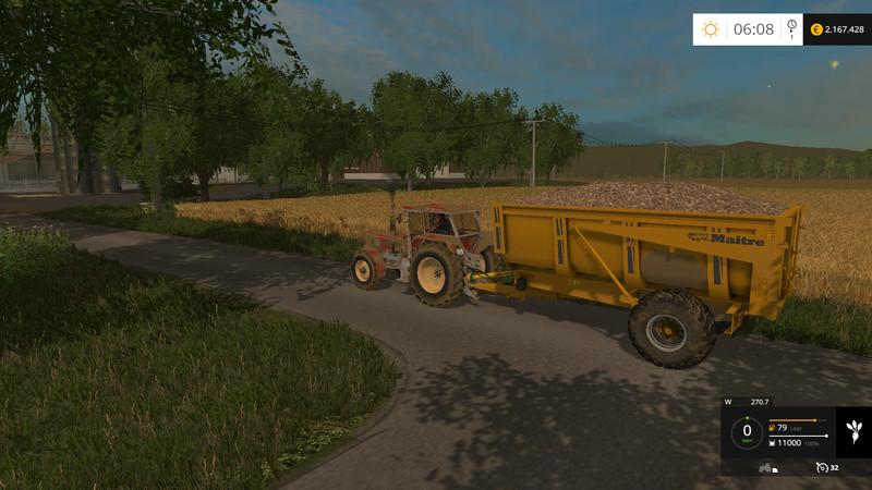 FS 15: Maitre BMM trailer v 1 1 Tandem Mod für Farming Simulator 15