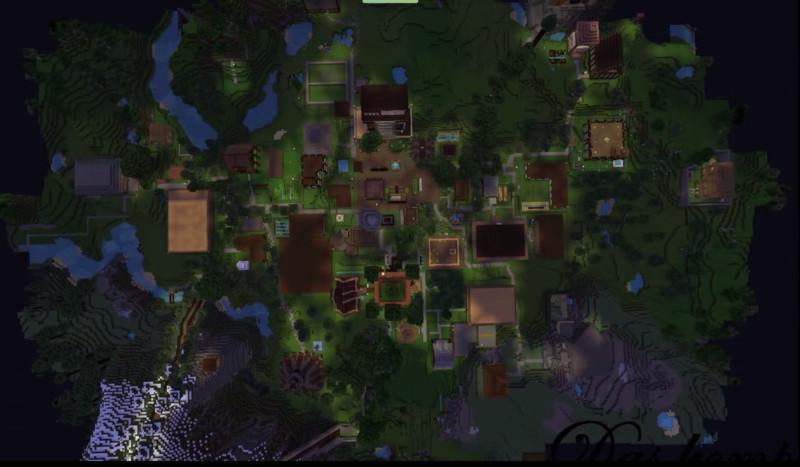Minecraft MINECRAFT LEBENEXISTENZ KARTE V Maps Mod Für Minecraft - Minecraft leben jetzt spielen