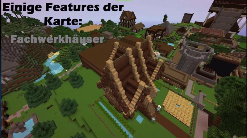 Minecraft Karte.Minecraft Minecraft Leben Existenz Map V 1 1 Maps Mod Für Minecraft