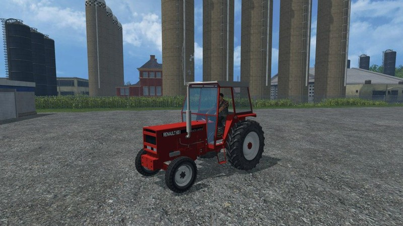 fs 15 renault 651 v 1 0 renault mod f r farming simulator 15. Black Bedroom Furniture Sets. Home Design Ideas