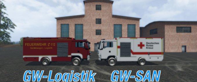 FS 15: GW logistics and DRC v 1 0 Textures Mod für Farming