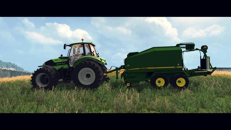 LS 15: John Deere 678 v 2.0 Pressen Mod für Landwirtschafts Simulator ...