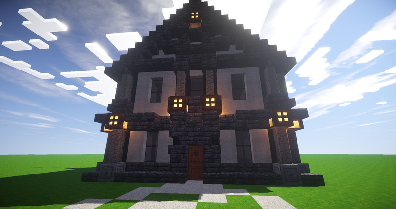 Minecraft Mittelalter Haus V Maps Mod Für Minecraft Modhosterde - Minecraft hauser download und einfugen