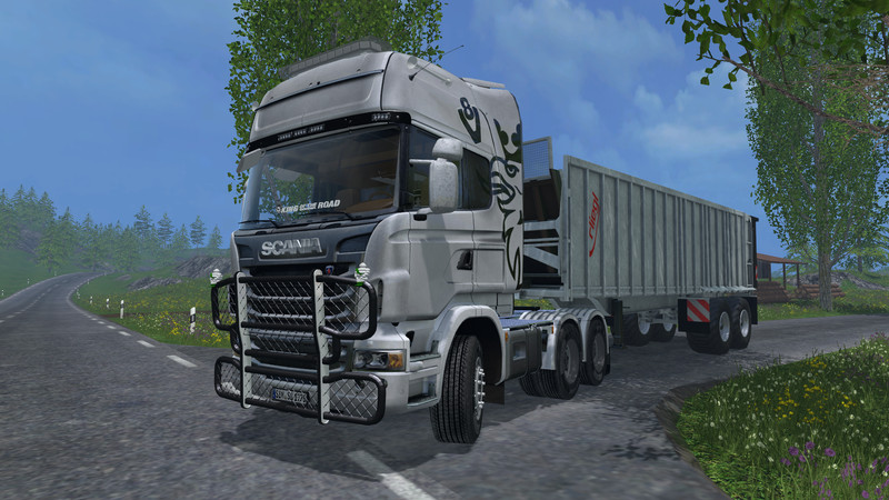 FS 15: Scania R730 Top Line v 1 0 Scania Mod für Farming Simulator 15