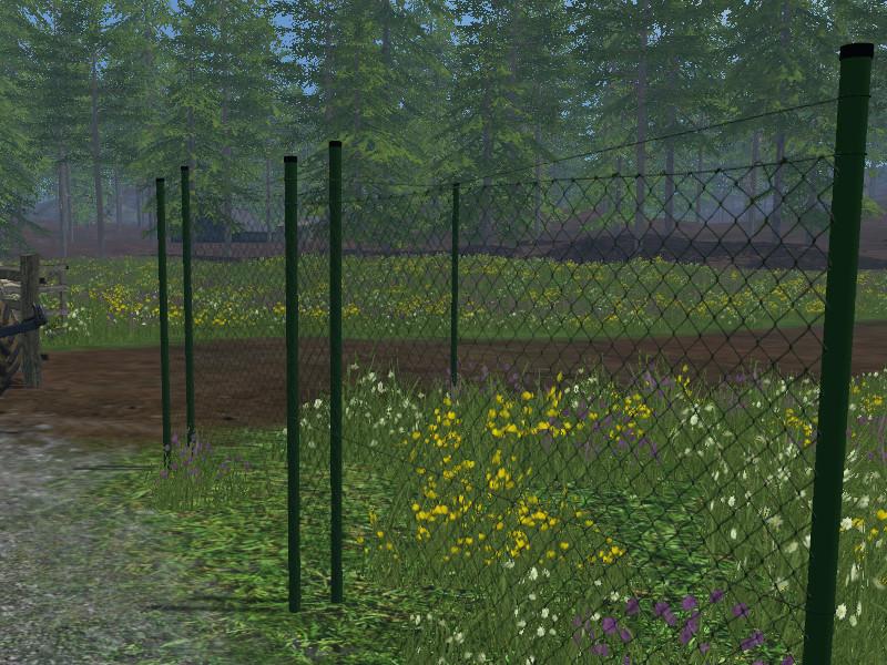 ls 15 maschendrahtzaun v 2 0 objekte mod f r landwirtschafts simulator 15. Black Bedroom Furniture Sets. Home Design Ideas