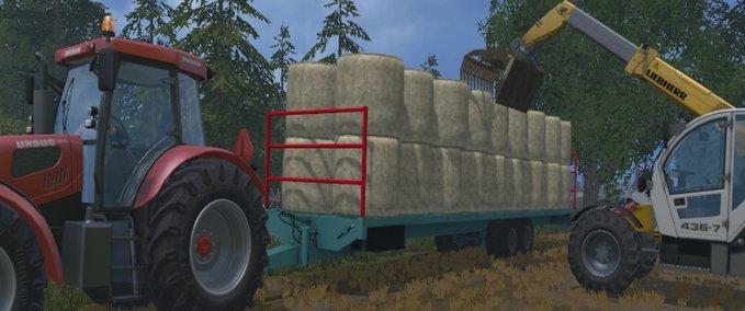 Boot Trailer v1.0 FS17 - Farming Simulator 17 mod / FS