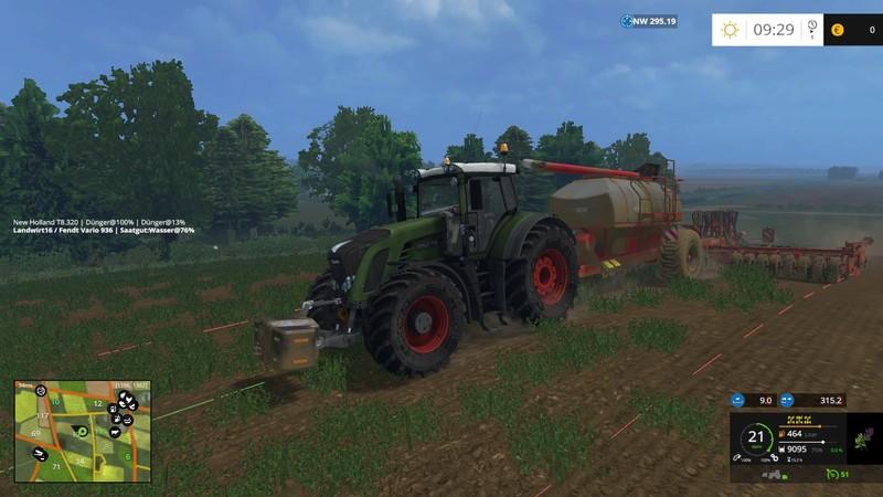 FS 15: GPS v 4 21 Scripts Mod für Farming Simulator 15