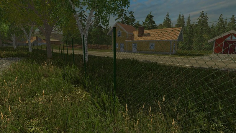 fs 15 mesh wire fence v 2 0 objects mod f r farming. Black Bedroom Furniture Sets. Home Design Ideas