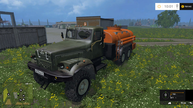 Ls 15 Kraz Fuel Truck V 1 0 Lkws Mod F 252 R Landwirtschafts Simulator 15