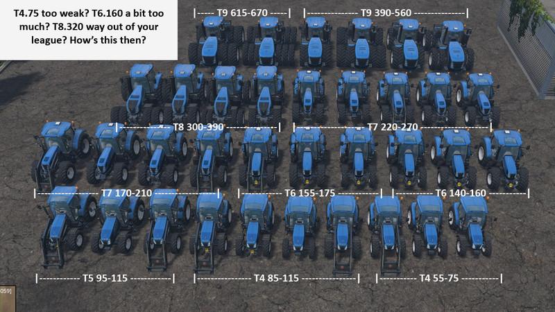 Fs 15 New Holland Bundle V 1 12 New Holland Mod F 252 R