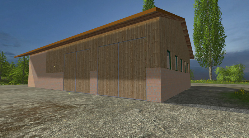 fs 15 small garage v 1 0 buildings with functions mod f r farming simulator 15. Black Bedroom Furniture Sets. Home Design Ideas