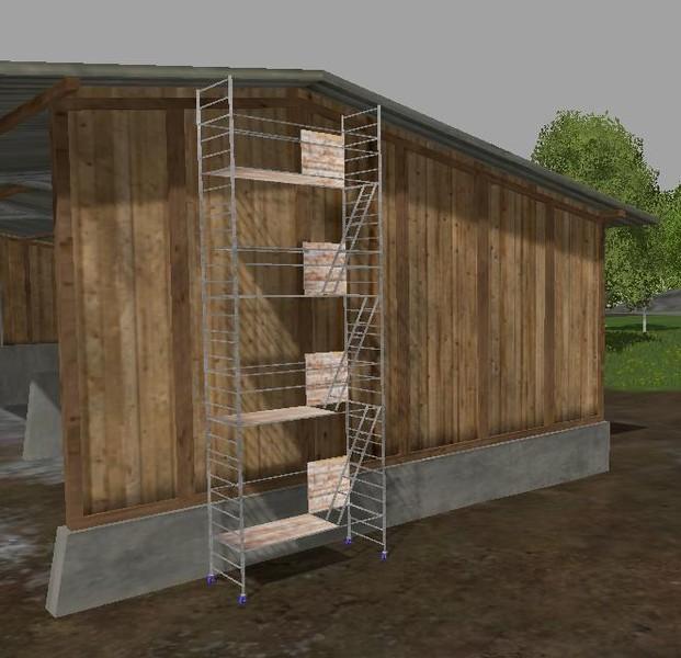 ls 15 ger ste und leitern v 1 0 platzierbare objekte mod f r landwirtschafts simulator 15. Black Bedroom Furniture Sets. Home Design Ideas