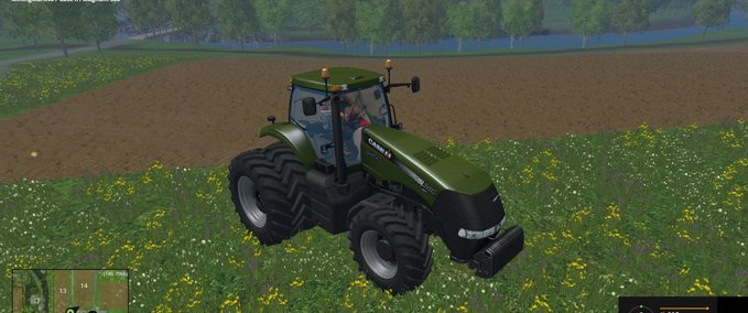 Forest-green-caseih-magnum-380