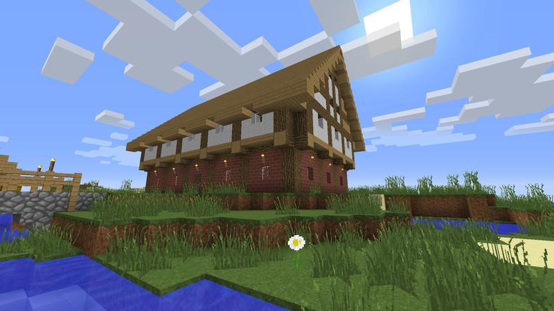 Minecraft Mittelalter Haus V Maps Mod Für Minecraft - Hauser in minecraft einfugen