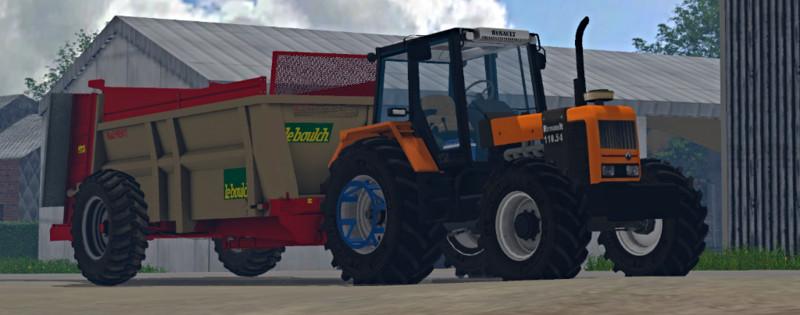 fs 15 renault 110 54 v 1 0 renault mod f r farming simulator 15. Black Bedroom Furniture Sets. Home Design Ideas
