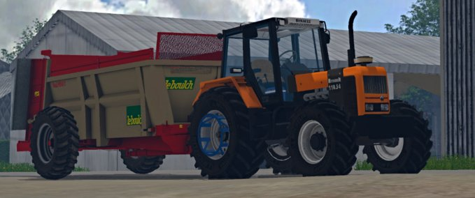 fs 15 2013 2011 tractors renault mods for farming. Black Bedroom Furniture Sets. Home Design Ideas