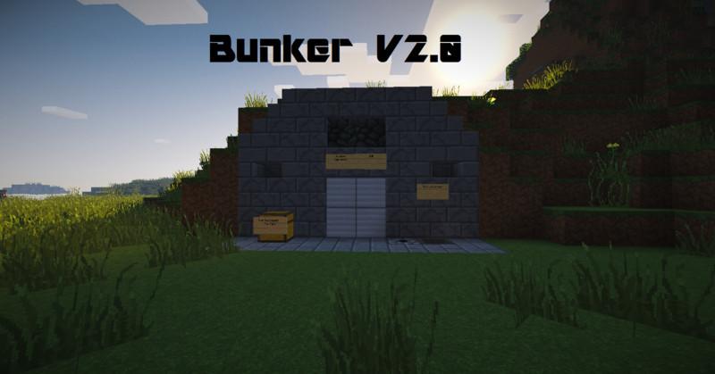 Minecraft Bunker Map V Maps Mod Für Minecraft Modhosterde - Geile maps fur minecraft downloaden
