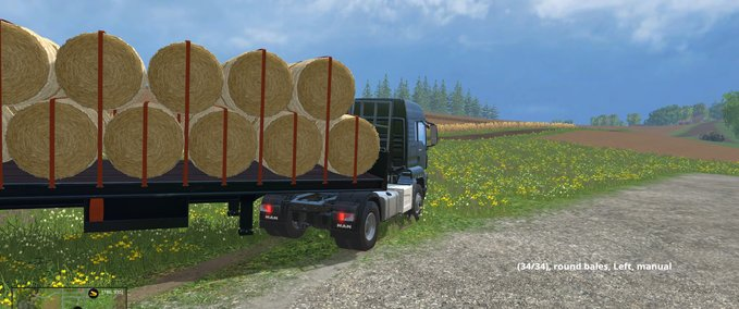 "FS 15/2013/2011: ""Trailers bale transport mods for Farming Simulator ..."