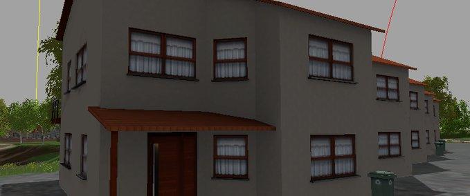 ls 15 modernes haus mit balkon v 1 0 geb ude mod f r. Black Bedroom Furniture Sets. Home Design Ideas