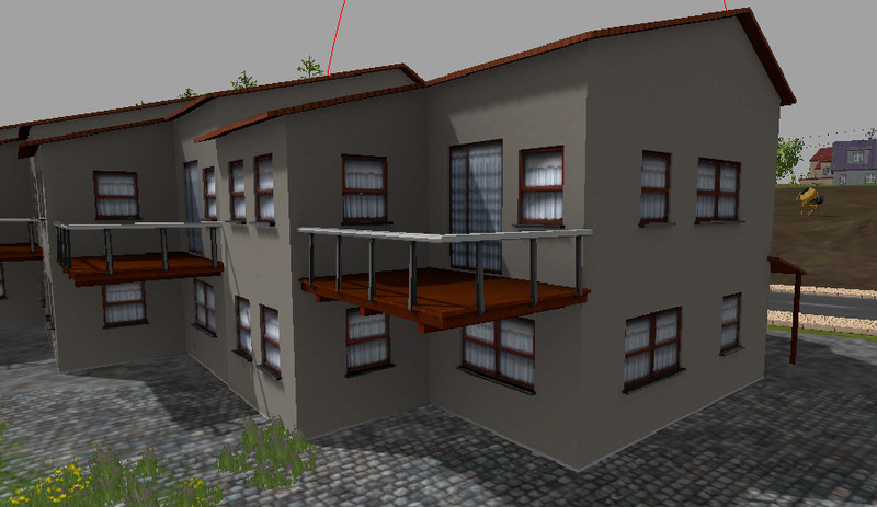 FS 15 Modern house with balcony v 1 0 Buildings Mod für
