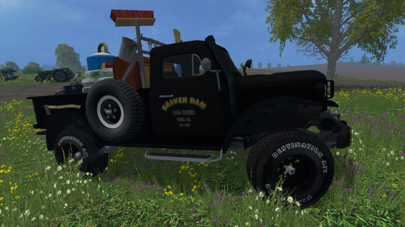 FS 15: Dodge Powerwagon Service v 1 0 Cars Mod für Farming