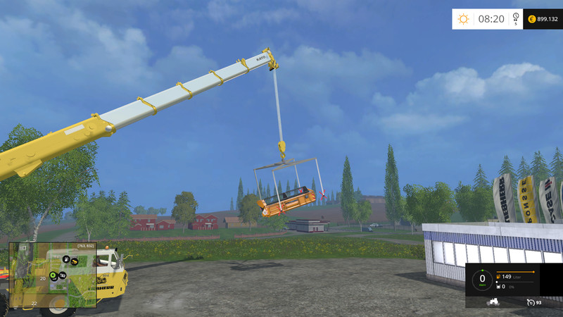 Kran Hebegestell furthermore Hebegestell Small Mit Kette further Crane Lifting Frame Mod further Kran Hebegestell together with Crane Lifting Frame V 2 0 Fs 2015. on fs17 lifting chain