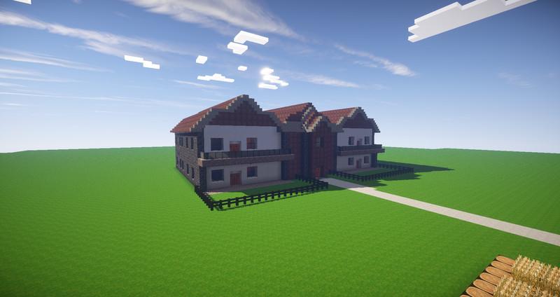 minecraft mehrfamilien haus v 1 0 maps mod f r minecraft. Black Bedroom Furniture Sets. Home Design Ideas