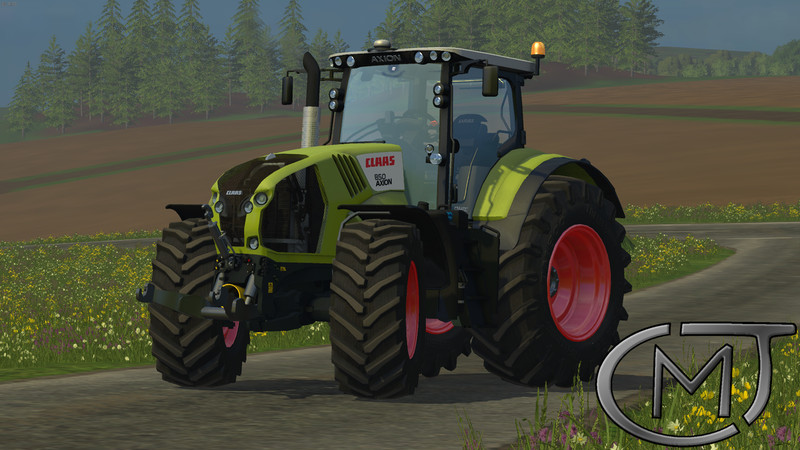 CLAAS Axion 850 V 1.2