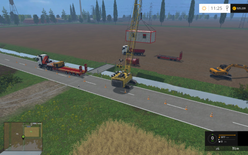 Ls 15 hebe und transport funmod v 1 0 addons mod f r for Pack travaux