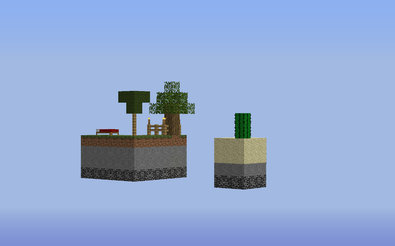 Minecraft Bedwars Map Skyblock V Maps Mod Für Minecraft - Minecraft maps skyblock 1 11 2