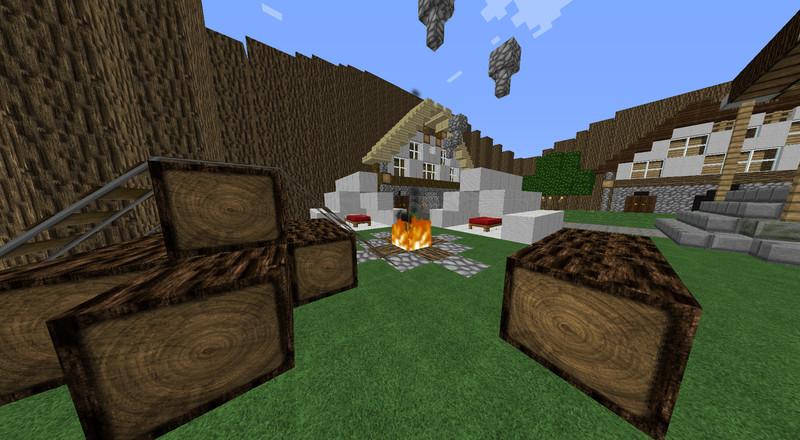Minecraft Mini Games Lobby V Maps Mod Für Minecraft Modhostercom - Minecraft spiele lobby